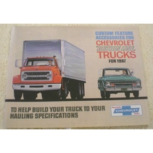 1967 Chevy Truck Accessories Brochure