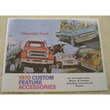 1970 Chevy Truck Accessories Brochure