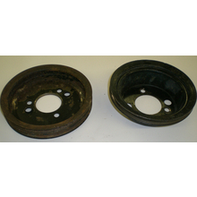 Big Block 2pc Crank Pulley Set (Used) - 67-72 Chevy/GMC Truck