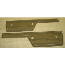 72 Wood Grain Door Panel Inserts (Pair) -1967-72 Chevy/GMC Truck