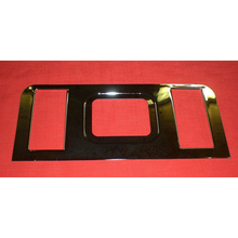 Center Console Bezel Plate 69-72 Chevy/GMC Truck Blazer Jimmy w/ Bucket Seats