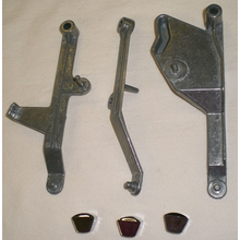 A/C 3pc Lever Rebuild Kit 67-72 Chevy/GMC Truck