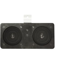 KNW-2005 Kenwood Dual Dash Speaker for Non-A/C 67-72 Chevy/GMC Truck