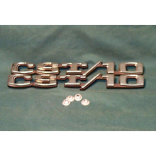 "1969-70 ""CST 10"" Truck Fender Emblems (PAIR)"