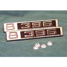 "1969-72 ""8-396"" Truck Fender Emblems (PAIR)"