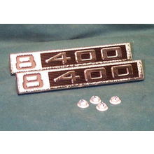 "1969-72 ""8-400"" Truck Fender Emblems (PAIR)"