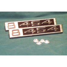"1969-72 ""8-454"" Truck Fender Emblems (PAIR)"
