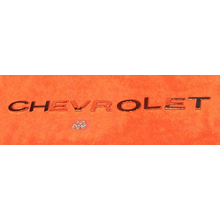 """CHEVROLET"" Tailgate Plaque Letters 1967-72 Chevy Truck"