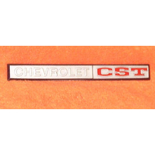 "1969-70 ""Chevrolet CST"" Truck or 69-72 Blazer Glove Box Emblem"