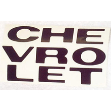 "1969-1970 ""CHEVROLET"" Truck Grill Letter Replacement Decal Set"