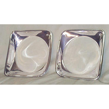 1967-1968 Headlight Bezels (PAIR) - Chevy Pickup