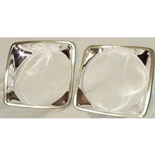 1969-1972 Headlight Bezels (PAIR) - Chevy Pickup