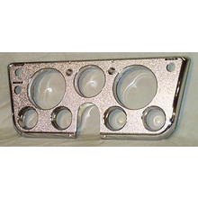 1967-68 Dash Bezel All Chrome W/Gauges