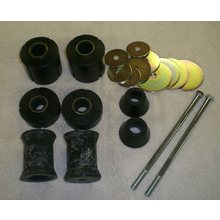 Cab Mount Kit 3/4 Ton 2wd or 1/2 4x4 and 3/4 4X4 and 1 Ton(Rubber) - 1967-1972 Chevy/GMC Truck