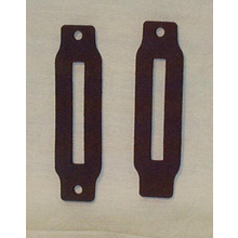 Blazer Rear Hatch Hinge Cover Gaskets (Pair) - 1969-1972 Chevy/GMC