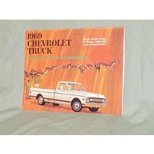 1969 Chevy Truck Accessories Brochure