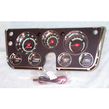 1967-68  Dash Cluster Complete w/ 5000 Tach and Vacuum Gauge