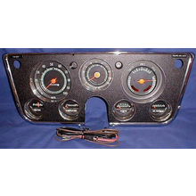 1969-72 Dash Cluster  Complete w/ 5000 Tach and Vacuum Gauge
