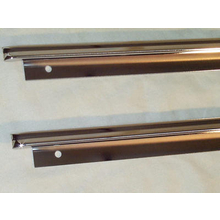 1967-71 Door Panel Upper Trim (Pair) Chevy GMC Truck Blazer Suburban