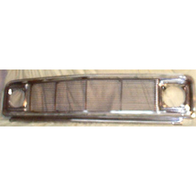 1971-1972 Chevy Chromed Steel Grill w/ Billet Insert and Headlight Bezels