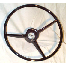 Steering Wheel 1967-68 Chevy/GMC Truck (Black only)